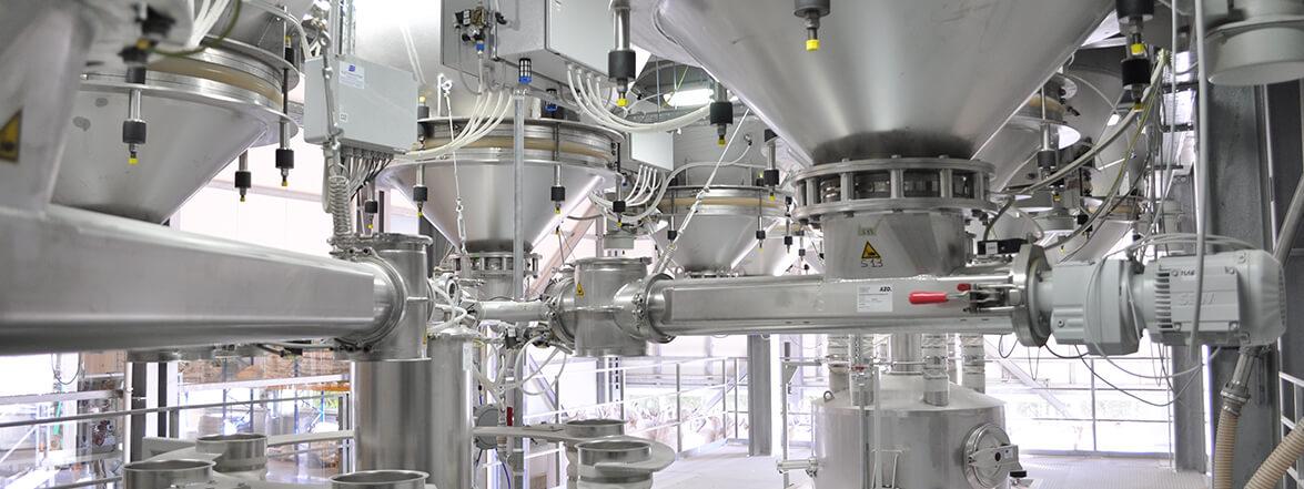 servizi elettrosystem per l'industria - impianto di dosaggio